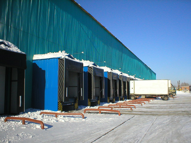 Reconstruction of Nestle Novosibirsk warehouse